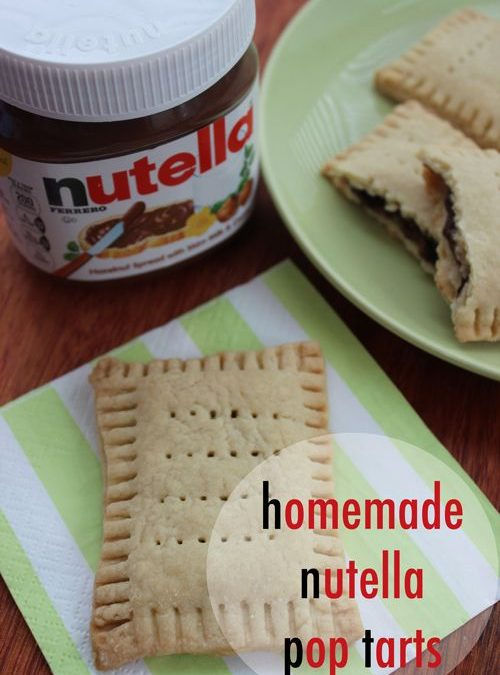 Homemade Pop Tarts Recipe with Nutella