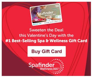Give a Spafinder Gift Card for Valentine's Day!