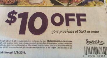Scenarios to Maximize Savings with Publix $5/$40 & Sweetbay $10/$50 (plus Winn Dixie $5/$30!)