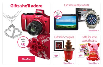 Save on Valentine's Day Gifts from Walmart!