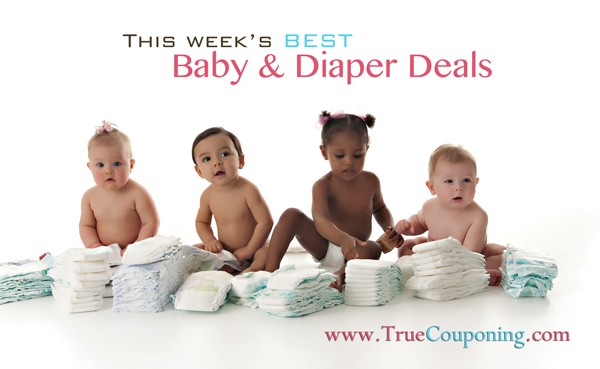 Baby & Diaper Deals Week of 8/31 – 9/6