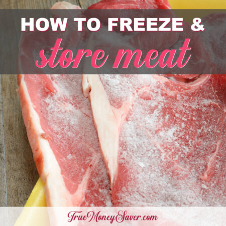 How To Freeze - And How Long Is Frozen Meat Good? (Free Printable Download)
