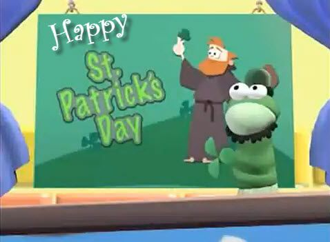 Happy St. Patricks Day {VeggieTales Video Short}