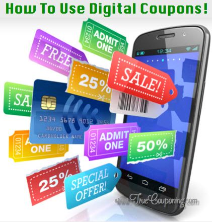 How To Use Digital Coupons