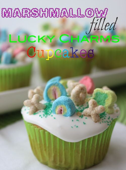Magically Delicious Cupcakes for St. Patrick's Day!