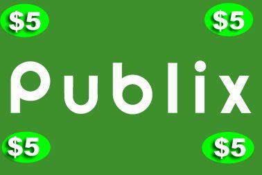 Publix $5