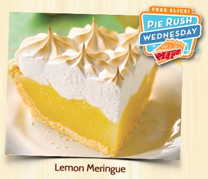 Village Inn FREE Pie