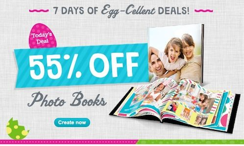 Walgreens Photo Deals ~ 55% Off Photo Books TODAY ONLY 3/31