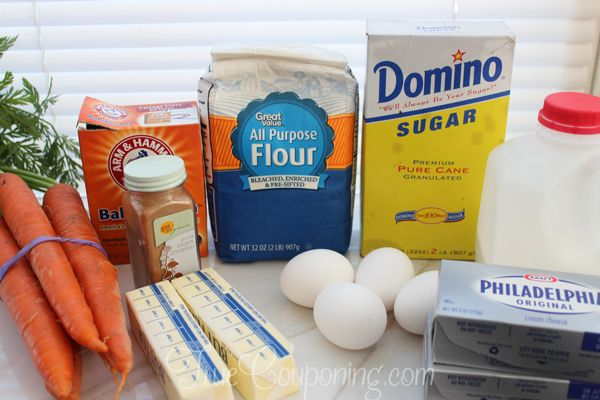 Carrot-Cake-Cupcakes-easter-recipe-Ingredients