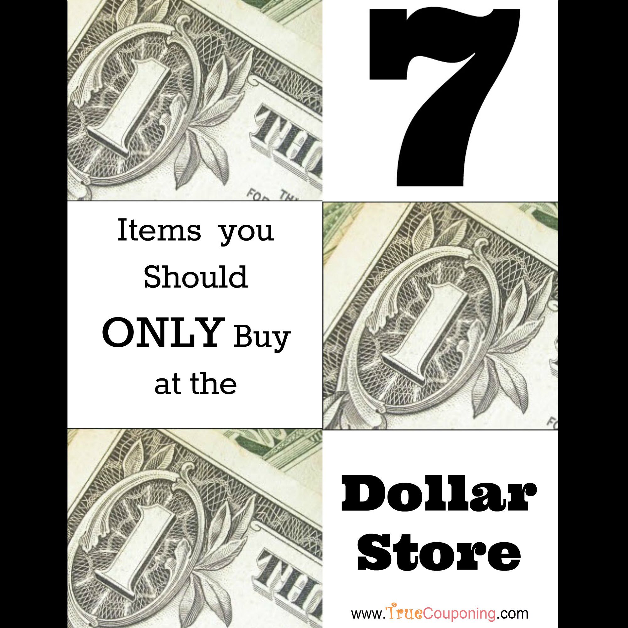 Fox 13 Savings Segment ALWAYS and NEVER Items to Buy at the Dollar