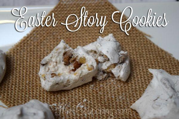 Easter Story Cookies