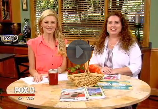 Fox 13 Savings Segment ~ Creative Ways To Save on Purchasing Produce!