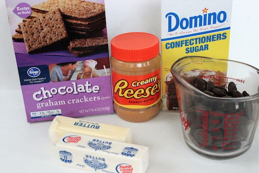 Chocolate Graham Cracker Peanut Butter Bars Ingredients 4-30