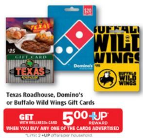 Rite Aid: Great Deals on Texas Roadhouse, Dominos, or Buffalo Wild ...