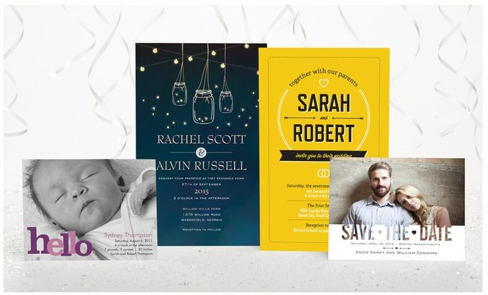 Vistaprint ~ Save 50% on Invitations and Announcements!  LAST DAY 4/16