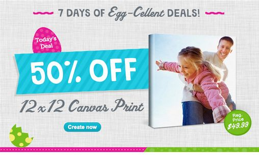 Walgreens Photo Deals ~ Save 50% on 12×12 Canvas Prints  TODAY ONLY 4/5