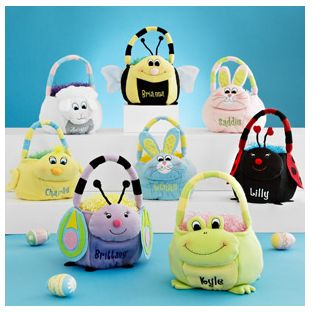 Personalized Plush Easter Baskets  $9.47 at Walmart