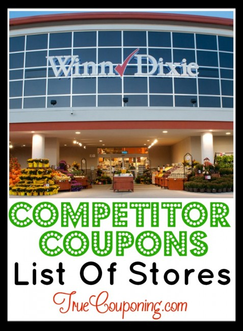 Winn Dixie Competitor Coupons Pin