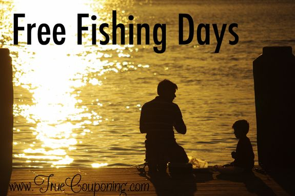 Free fishing days 2014 no license required for Best fishing days