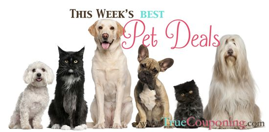 Pet Deals Week of 8/24 – 8/30