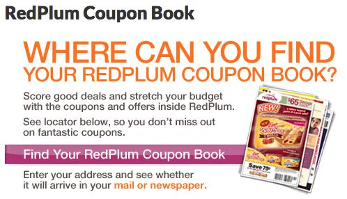 RedPlum Coupon Inserts No Longer in Some Newspapers Beginning June 1, 2014