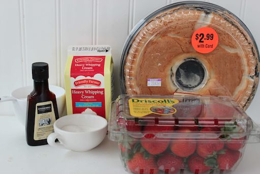 Strawberry Shortcake in a Jar Ingredients 5-21