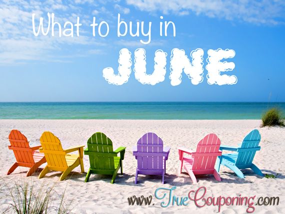 Best Things To Buy In June (and what not to buy)