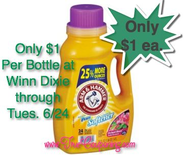 Hot Deal Shown Today on Fox! {Arm & Hammer Laundry Soap Only $1 each!}