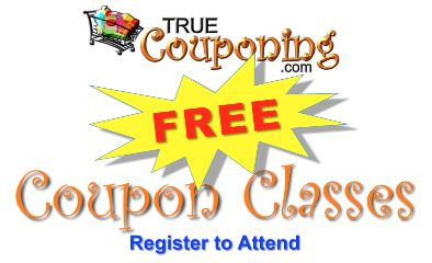 FREE Coupon Classes: True Couponing Workshops June/ July 2014