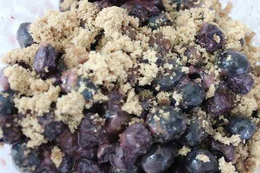 Easy Blueberry Crisp 1 6-18