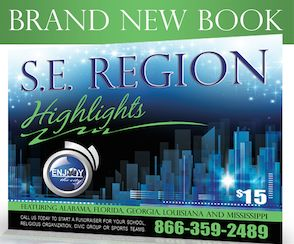 NEW Enjoy the City Book ~ SE Region! As low as $1.88 each!