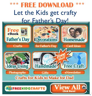 FREE Download ~ Kids' Crafts for Father's Day!