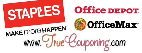 Staples, Office Depot-Office Max Coupon Matchups Week of 8/31 – 9/6
