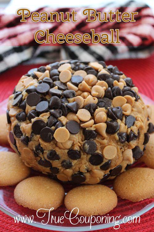 Peanut Butter Cheeseball Dessert Recipe