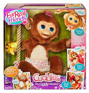 Walmart: FurReal My Giggly Monkey, $37.50 ~ Today Only!