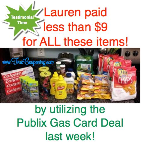 A True Couponing Testimonial from Lauren G.! Look what all she got for under $9!