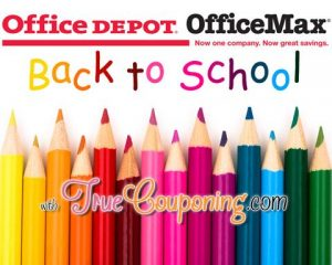 Office Depot OfficeMAX Back To School Deals 7/5 – 7/11