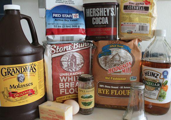 Robust Rye Ingredients