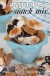 No Campfire Needed for This Ooey Gooey S'mores Snack Mix!