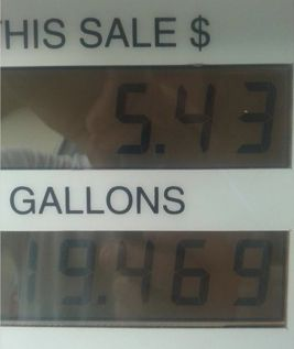 True Couponing Testimonial from Melissa N. ~ $5.43 for 19 Gallons of GAS!