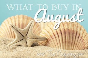 When Where How to Buy in August
