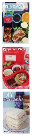 Back to School Lunch Idea Roundup 8-8