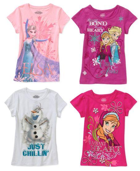 Disney Frozen Girls Tees $6.97 ~ Today Only!