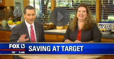 Fox 13 Savings Segment ~ Learn The Many Ways To Save At Target!