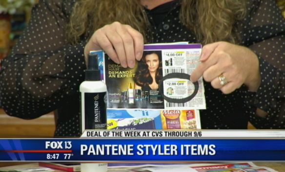 Hot Deal Shown Today on Fox! {Pantene Hair Stylers Only 33 Cents Each!}