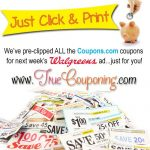 Pre-Clipped Walgreens Printable Coupons (for the Sunday Sneak Peek)