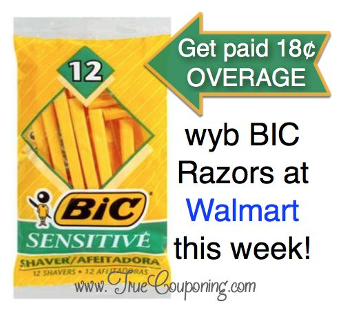 Hot Deal Shown Today on Fox! {Get Paid $.18 Cents to Buy Razors at Walmart!}