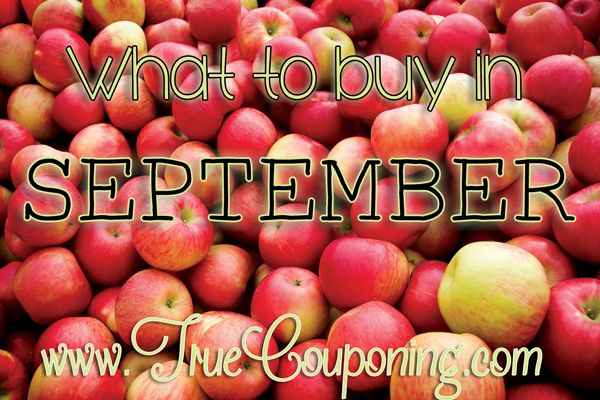 When Where How to Buy in September