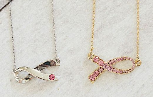 Breast Cancer Awareness Necklaces $7.99 Shipped!