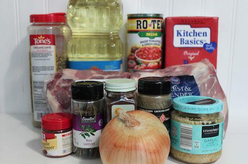 Chipotle Carnitas Recipe Ingredients 9-3